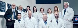 Lo staff del Centro Parkinson